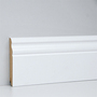 EGGER skirting board 10 cm white curved