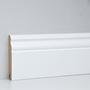 Profil de închidere la perete EGGER 10 cm alb, curbat