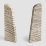 EGGER tail element for 6 cm skirting boards