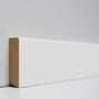 EGGER skirting board 6 cm white cubic