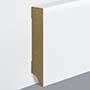 EGGER skirting board 8 cm white straight