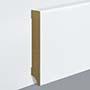 EGGER skirting board 10 cm white straight