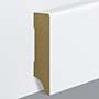EGGER skirting board 6 cm white straight