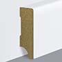 EGGER skirting board 4 cm white straight