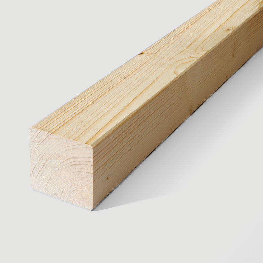 Squared timber